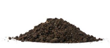 ворох грязи Стоковое фото RF