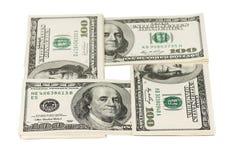 Ворох долларов Стоковые Изображения RF