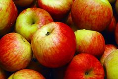 ворох яблок Стоковая Фотография RF