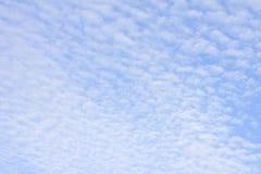 Ворсистые облака Стоковые Изображения