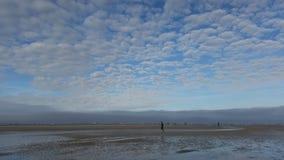 Ворсистые облака Стоковая Фотография RF