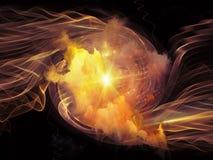 Вортекс в космосе Стоковая Фотография RF
