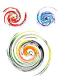 вортекс икон спиральн Стоковое Фото