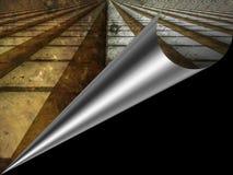вортекс страницы скручиваемости Стоковое фото RF