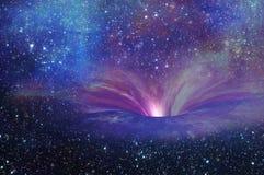 вортекс черной дыры Стоковые Изображения RF