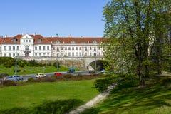2 дворца в Варшаве Стоковое Фото