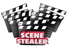 Вор красное 3d сцены формулирует представление колотушек кино большое Стоковая Фотография