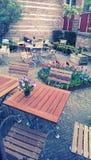 двор напольный Стоковое Изображение RF