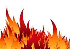 восковка пожара иллюстрация штока