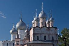 воскресение куполков церков предположения Стоковая Фотография