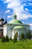 Воскресение Христоса церков и собора святой троицы на монастыре зоны Vologda воскресения, России Goritsy Стоковые Фотографии RF