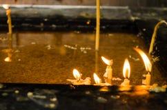 Воск свечи Стоковые Фотографии RF