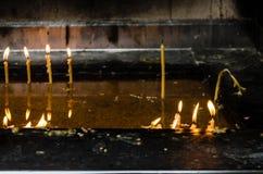 Воск свечи Стоковая Фотография RF