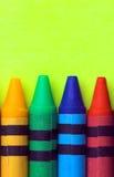 воск crayons Стоковая Фотография RF