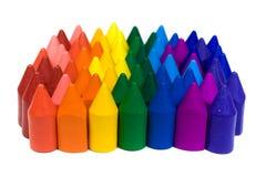 воск crayons Стоковые Фотографии RF