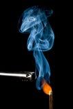 воспламенять спичку стоковое фото