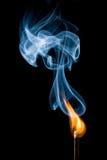 воспламенять спичку Стоковая Фотография