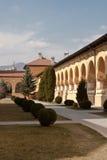 воссоединение интерьера двора собора Стоковое фото RF