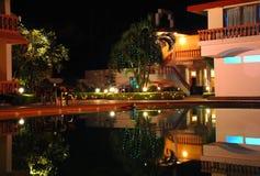 воссоздание ночи гостиницы зоны Стоковое Фото