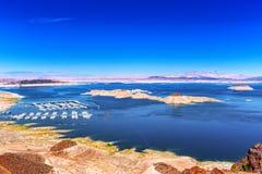 воссоздание соотечественника mead озера зоны стоковое фото
