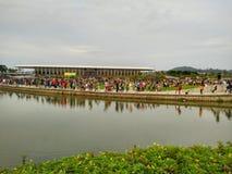 Воссоздание парка Стоковая Фотография