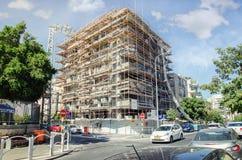 Восстанавливать кондоминиум 4 этажей в Rishon LeZion Стоковое Фото