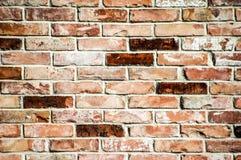 восстанавливанная старая brickwall Стоковое Изображение RF