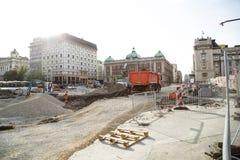 Восстановление Белграда стоковые фотографии rf