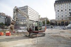 Восстановление Белграда стоковые изображения rf