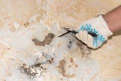 Восстановление старой ванны стоковое фото rf