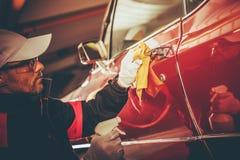 Восстановление тела автомобиля Стоковые Фото