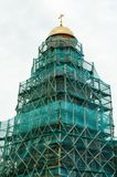 восстановление церков старое стоковая фотография