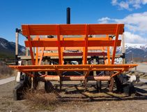 Восстановленное колесо затвора на carcross Стоковая Фотография RF