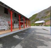 Восстановленные здания на пропуске Hatcher стоковые фотографии rf