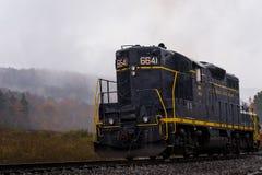 Восстановленный локомотив железной дороги Балтимора и Огайо - Западная Вирджиния стоковое изображение rf
