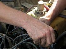 Восстановление автомобиля Стоковая Фотография