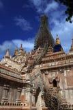 Восстановление виска Bagan Стоковое Изображение