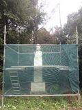 Восстановление Греция статуи Стоковое Изображение RF