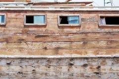 Восстановление деревянной яхты Стоковое Фото