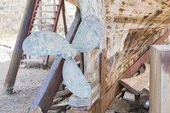 Восстановление деревянной яхты Стоковые Фото