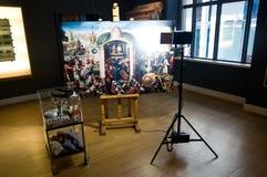 Восстановление исторической картины стоковые фото