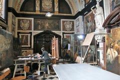 Восстановление картины искусства Стоковые Изображения
