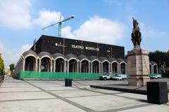 Восстановление старого театра Morelos в toluca Мексике Стоковое фото RF