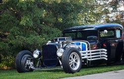 Восстановленная классическая гоночная машина Стоковые Фото
