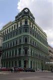 Восстановленное здание в старой Гаване Стоковые Фото