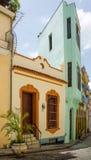 Восстановленные дома на холме Анджела в старой Гаване Стоковая Фотография RF