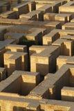 Восстановленные руины старого Вавилона, Ирака Стоковое фото RF
