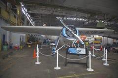 Восстановленный Lockheed Vega  Стоковое Изображение RF