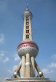 востоковедная башня tv станции shanghai перлы Стоковое Изображение