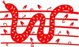 востоковедная змейка Стоковые Фотографии RF